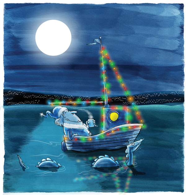 xmasBoat
