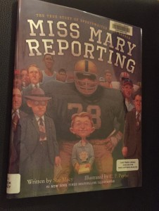 Miss Mary Reporting