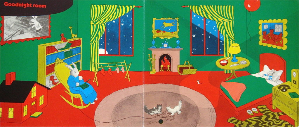 Goodnight Moon interior scene