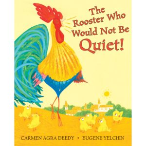 The rooster who would not be quiet in solidarity with the finely feathered star of this book i will not be quiet do yourself a favor and read this book solutioingenieria Images